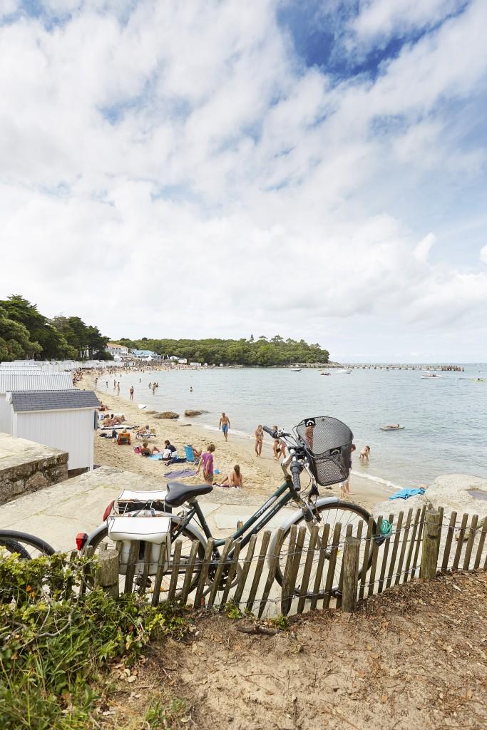 Noirmoutier à vélo un peu de repos sur les plages