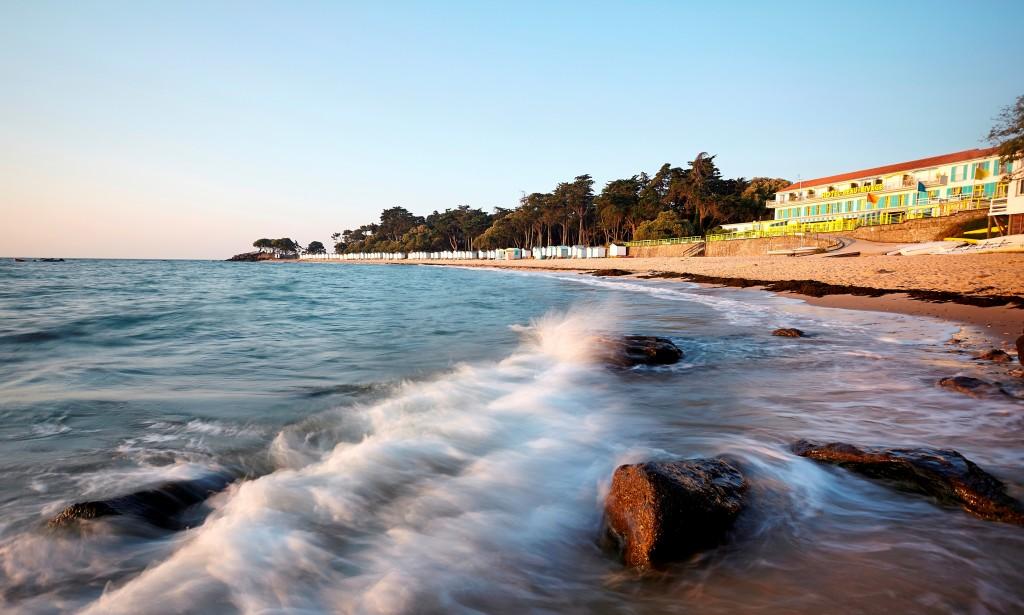 Noirmoutier la Plage Des Dames hotel de la plage
