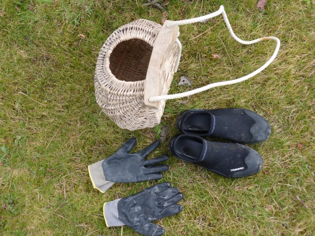 Panier à crevettes avec chaussons incontournables