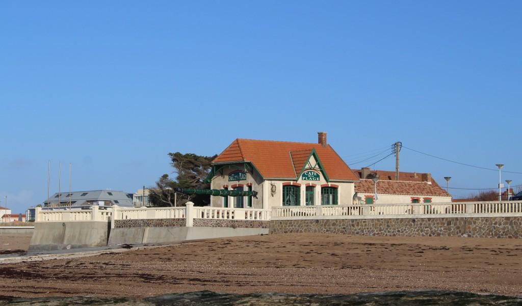 cafe de la plage Sion sur mer