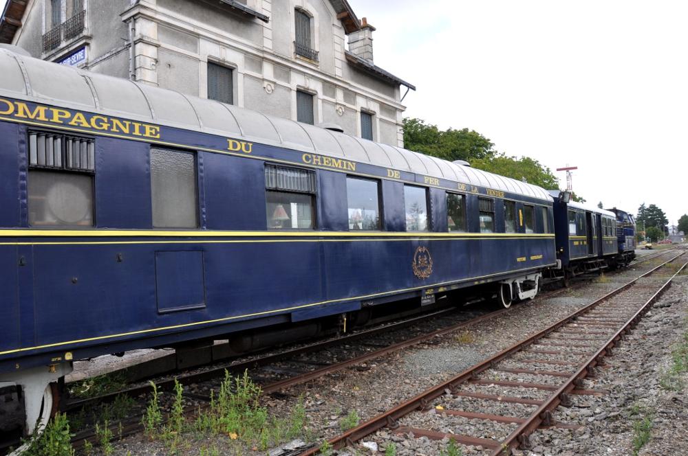 compagnie chemin de fer vendée wagon orient Express
