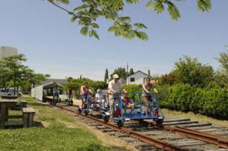 velo-rail départ