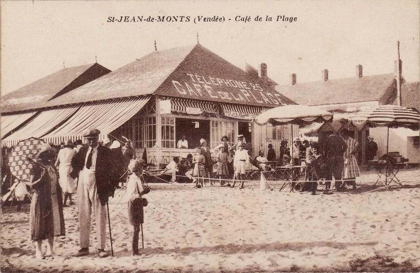 café de la plage st Jean de Monts
