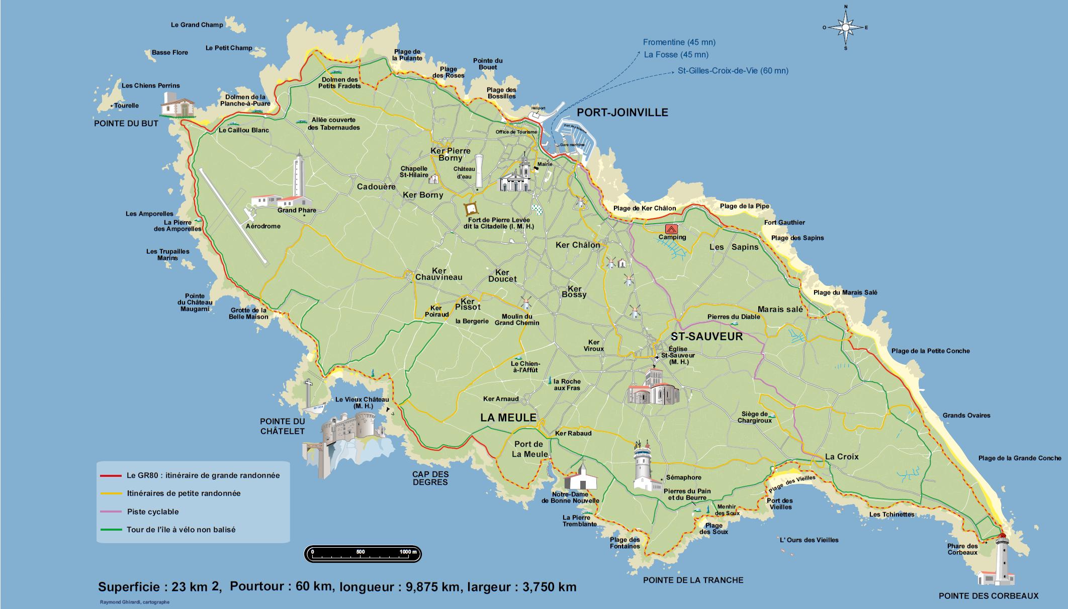 vole île d yeu