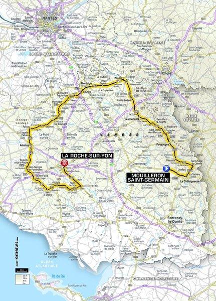 2e étape Mouilleron La Roche