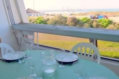 vue de la loggia terrasse sur mer