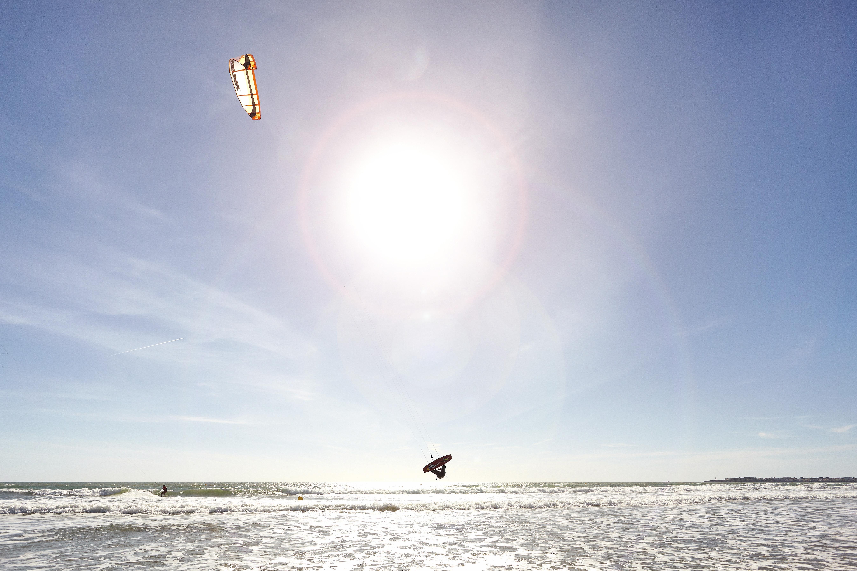 wind surf en vendée