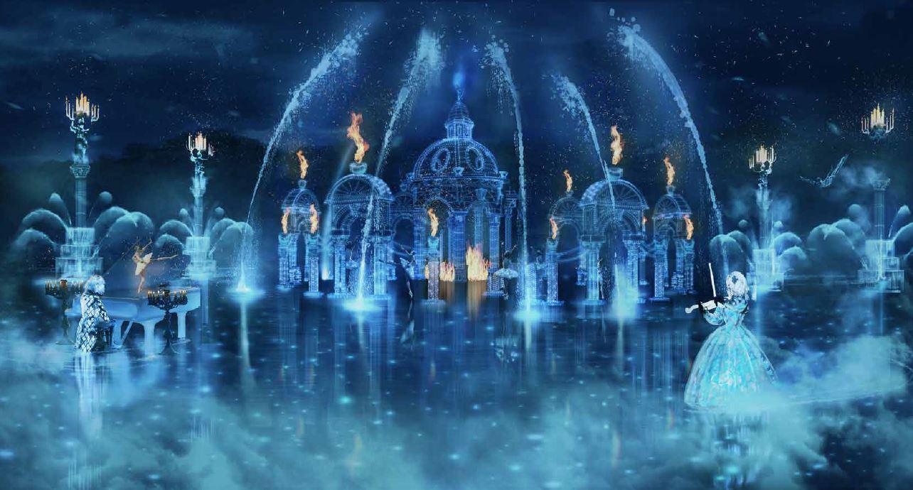 Les Noces de Feu puy du fou 2020 une nouvelle animation nocturne dans le grand parc du Puy du fou